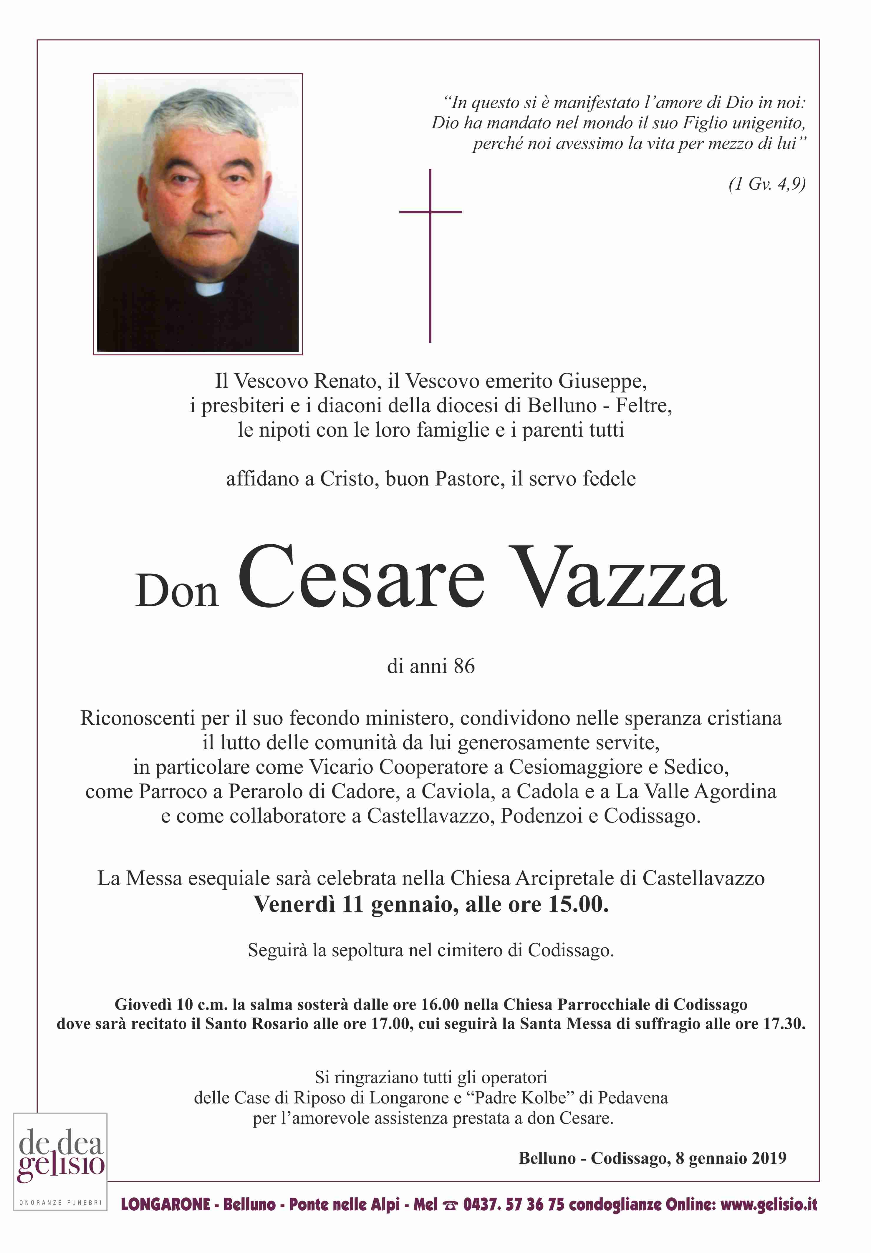 Don Cesare Vazza