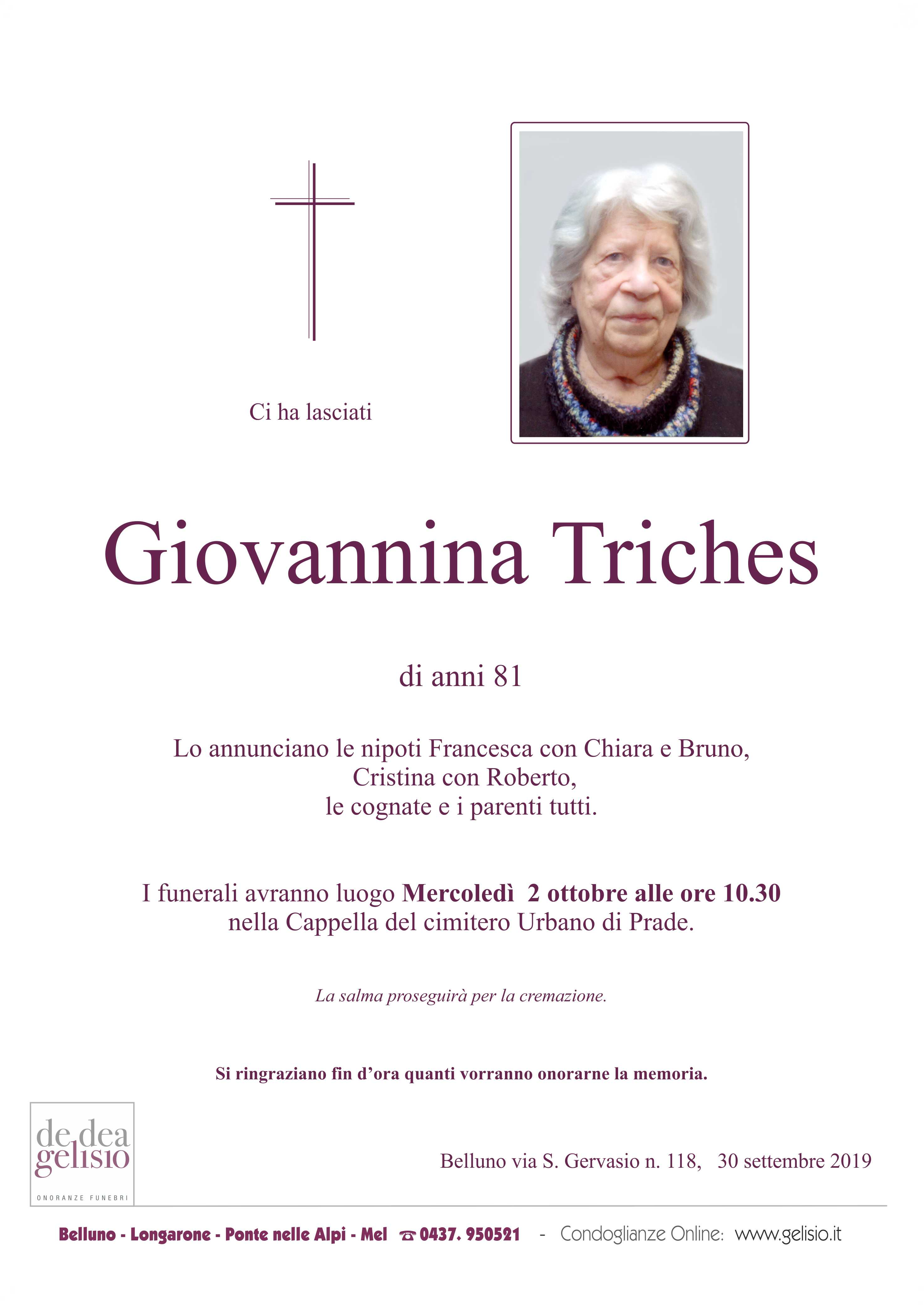 Triches Giannina